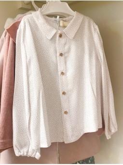 Camisa punto rosa