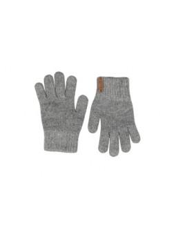 Guantes cálidos gris claro