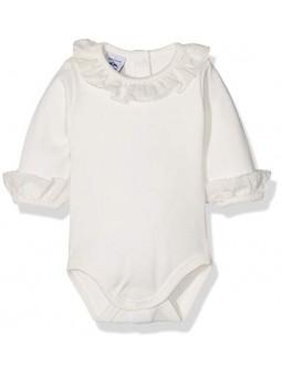Body cuello encaje bebé