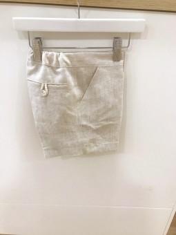 Pantalón Manuela azul arena